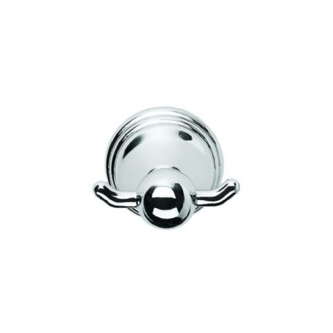 Croydex Westminster Chrome Double Robe Bathroom Hook